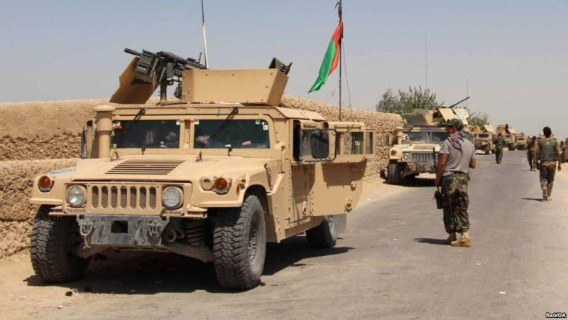 حمله طالبان بالای قطار نیروهای امنیتی/یک طالب کشته شده است
