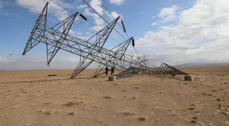 مخالفان برق وارداتی ایران – هرات را قطع کردند