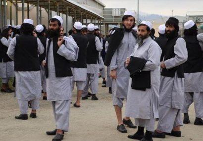 تمام زندانیان باقی مانده طالبان به جز هفت تن آنها رها شدند