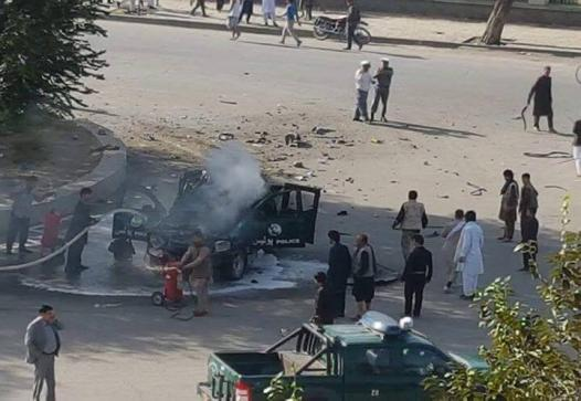 حمله طالبان بالای ولسوالی غوریان هرات/ فرمانده پولیس این ولسوالی و سه افسر دیگر زخمی شدند