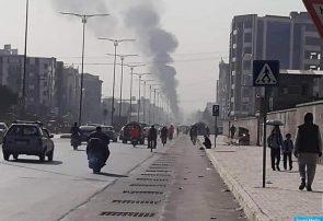کاروان امرالله صالح مورد هدف ماین قرار گرفت