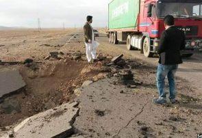 تخریب ۳۰ کیلومتر سرک آسفالت شاهراه فراه – فراهرود به دست طالبان