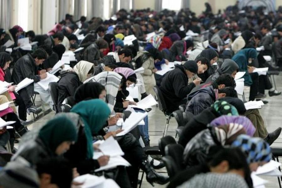 نتایج کانکور سرتاسری افغانستان/اول نمره کشور دختری از کابل