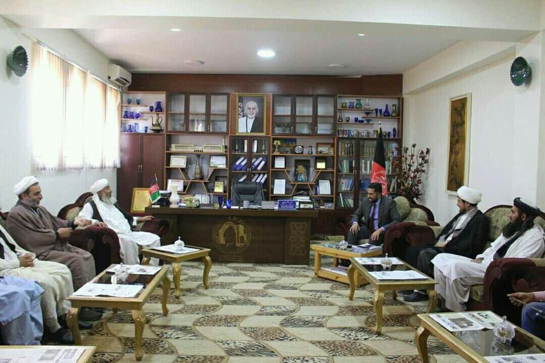 دیدار سران شورای اخوت اسلامی با رئیس اداره فرهنگ هرات/تاکید بر فرهنگ سازی وحدت