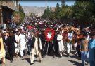 تشییع جنازه اعتراضی پس از حمله تروریستی شب گذشته در هرات