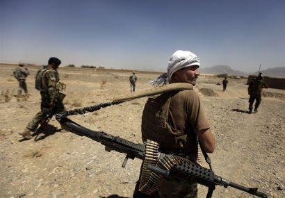 درگیری در غور/دو طالب و یک سرباز جان باختند