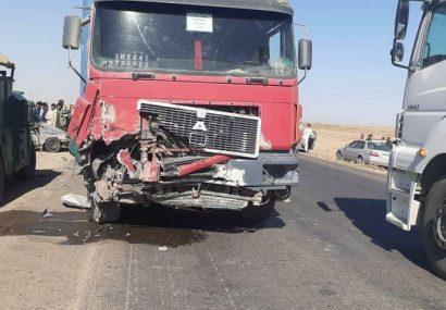 حادثه ترافیکی در شاهراه هرات – اسلام قلعه/۵ کشته و ۴ زخمی