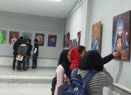 برگزاری نمایشگاه نقاشی تحت نام خشونت علیه زنان در دانشگاه هرات