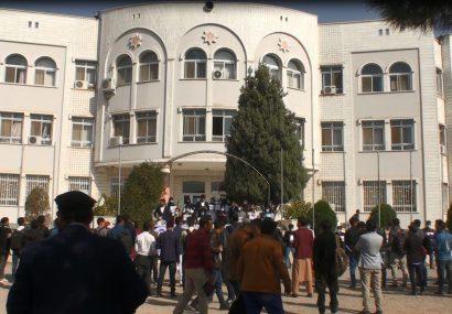 دانشجویان دانشگاه هرات حمله بالای دانشگاه کابل را محکوم کردند