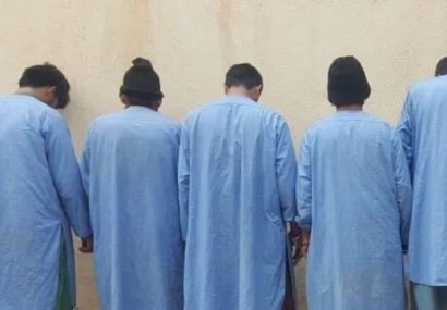 بازداشت ۵ فروشنده مواد مخدر در ولایت هرات