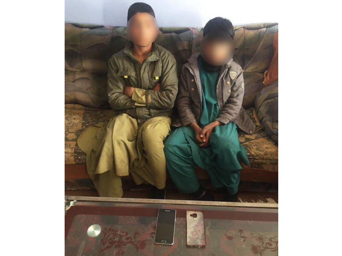 دو کودک در هرات به ظن سرقت بازداشت شدند