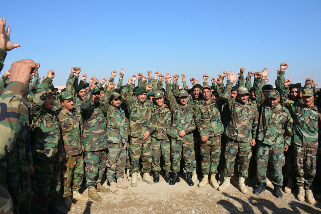 ۶۰۰ سرباز تعلیم داده شده وارد میدان نبرد میشوند