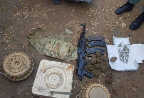 یک ذخیرهگاه مواد منفجر ناشده در هرات کشف شد