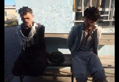 دو سارق بعد از درگیری با نیروهای ارتش در هرات بازداشت شدند