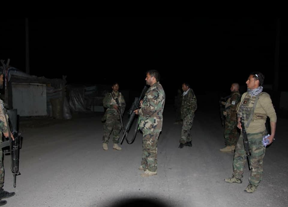 پنج کشته به همراه سرگروپ طالبان و پنج تن دیگر زخمی در مقر بادغیس