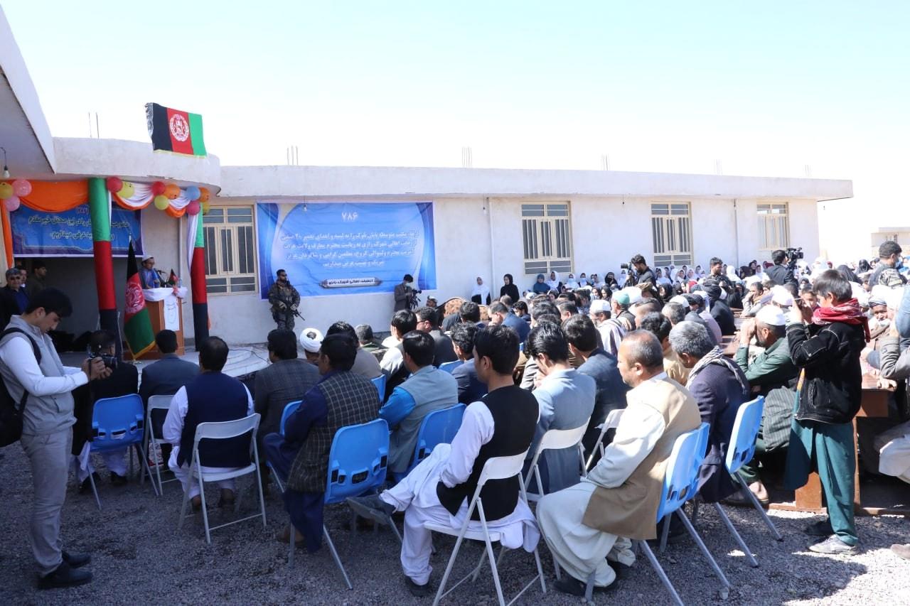 با هزینههای مردم و موسسات خیریه ۵ مکتب جدید افتتاح شدند