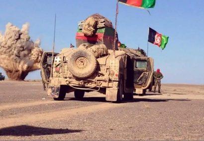 پنج حلقه ماین طالبان در فراه کشف و هفت قرارگاه این گروه هم نابود شد