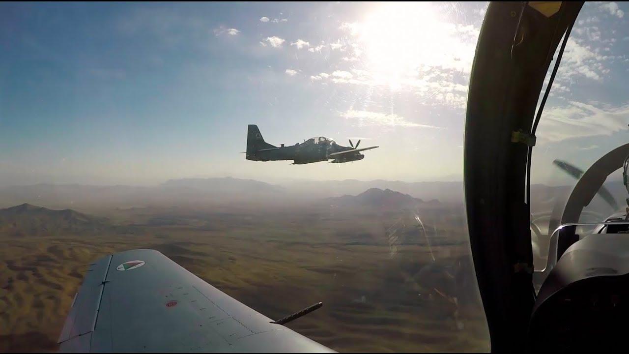 ویدئوخبر: حمله هوایی بر مواضع طالبان در شیندند هرات