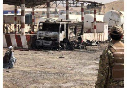 حادثه آتش سوزی در کمرکلاغ هرات خسارات به بار آورد