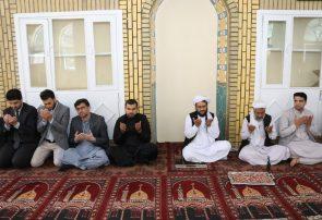مراسم دعا و فاتحه خوانی در هرات برای شهدای لوگر و غرب کابل برگزار شد