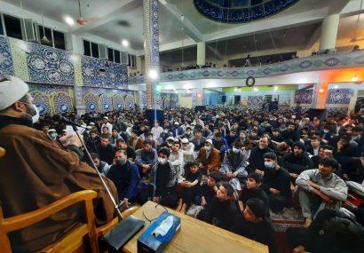 احیای شب دوم قدر در مسجد کاظمیه هرات