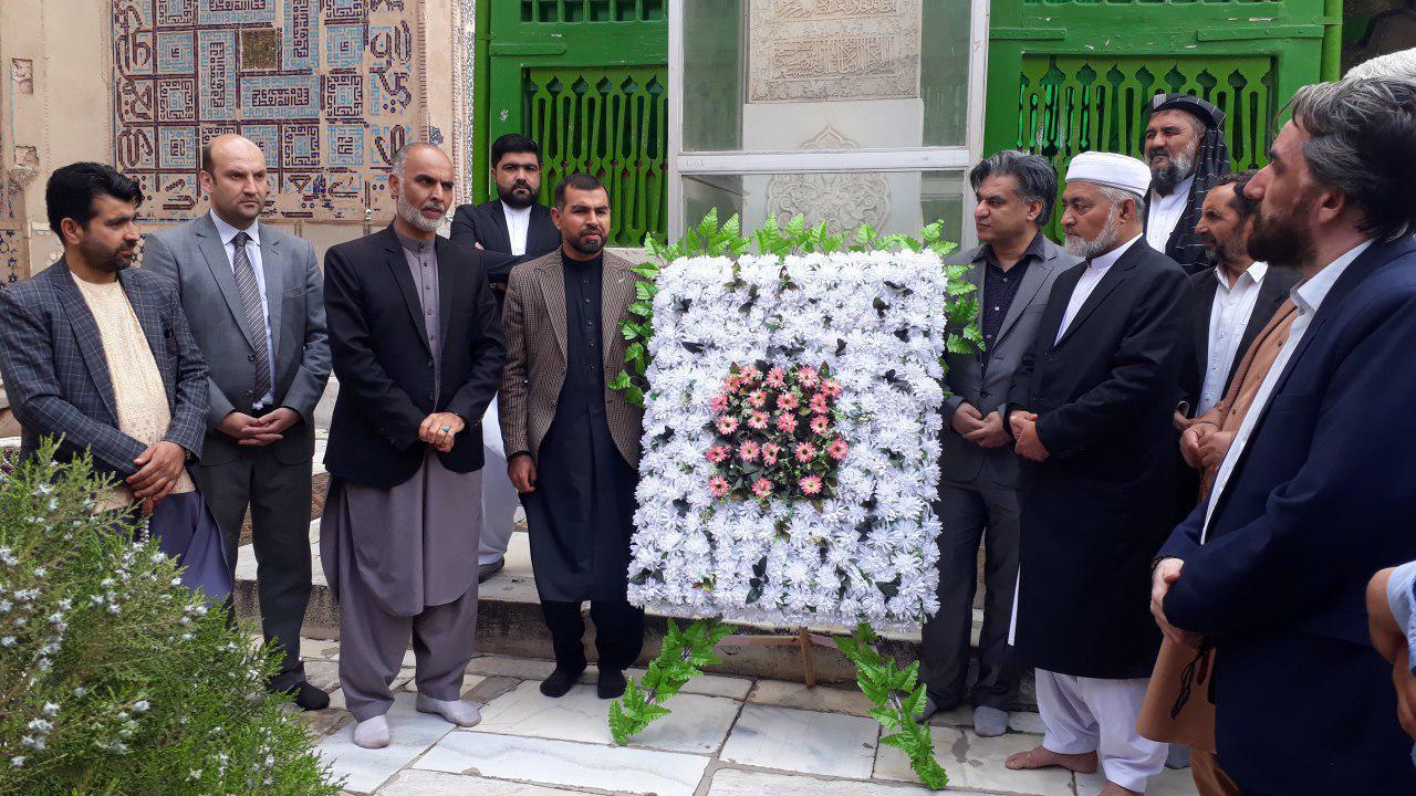 بزرگداشت از یک و هزار و پانزدهمین زادروز خواجه عبدالله انصاری در هرات