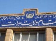 بازداشت یک کارشناس مقام ولایت هرات به اتهام فساد اداری