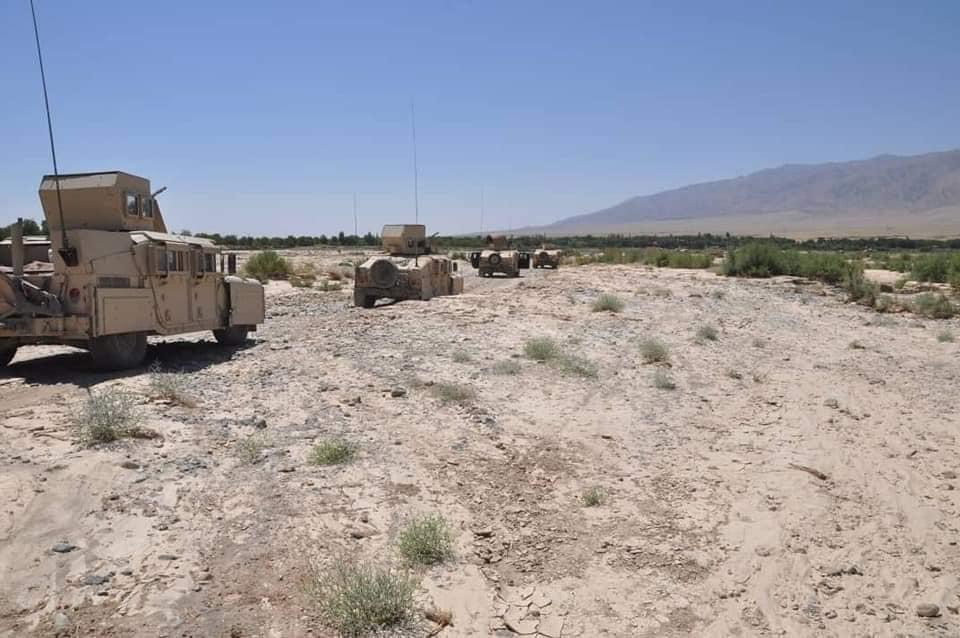 ۱۲ طالب در ولسوالی اوبه هرات کشته شده و ۳ تن دیگر زخمی شدند
