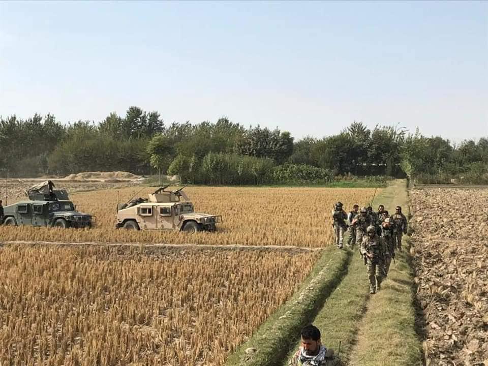 پاکسازی طالبان از ساحات مرکزی قادس توسط نیروهای کوماندو/۲۸ کشته و ۱۷ زخمی از این گروه