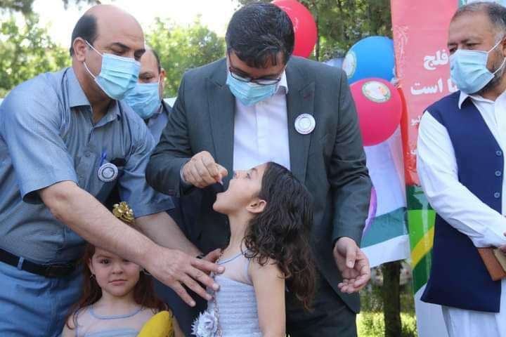آغاز کمپاین سراسری پولیو در هرات