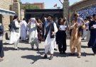 اعتراض بستگان نیروهای امنیتی در ولسوالی اوبه هرات/ مسئولان به داد فرزندان ما برسند