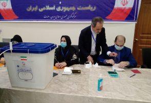 اتباع ایرانی مقیم هرات در انتخابات ریاست جمهوری این کشور شرکت کردند