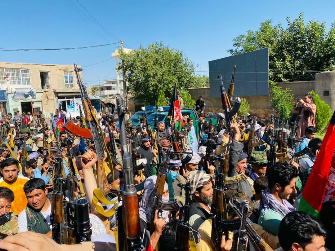 شکل گیری گروه مسلح ۵۰۰ نفری تحت نام مقاومت در بادغیس