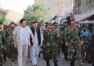 اعطای رتبه جنرالی به دو فرمانده بادغیس از سوی رئیس جمهور
