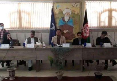 """از پژوهش تازهی """"بررسی و شناسایی عوامل بحران امنیتی در هرات"""" رونمایی شد"""