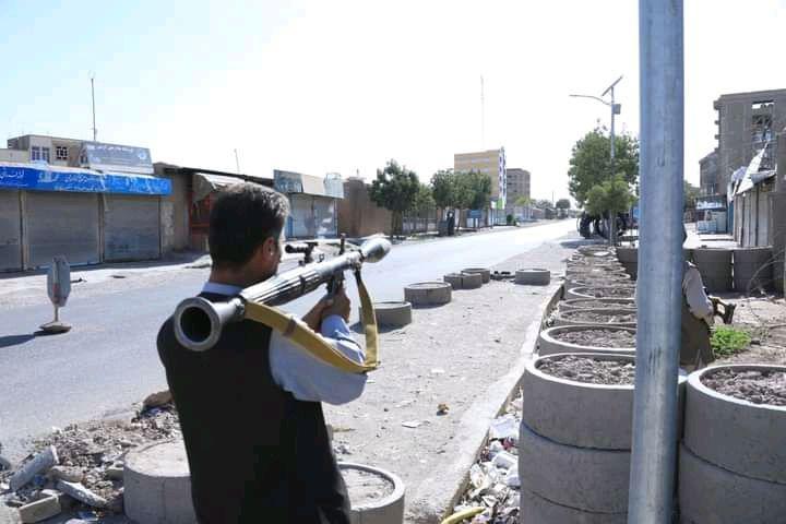 با وارد شدن تلفات سنگین به طالبان ساحات وسیع در هرات پاکسازی شد