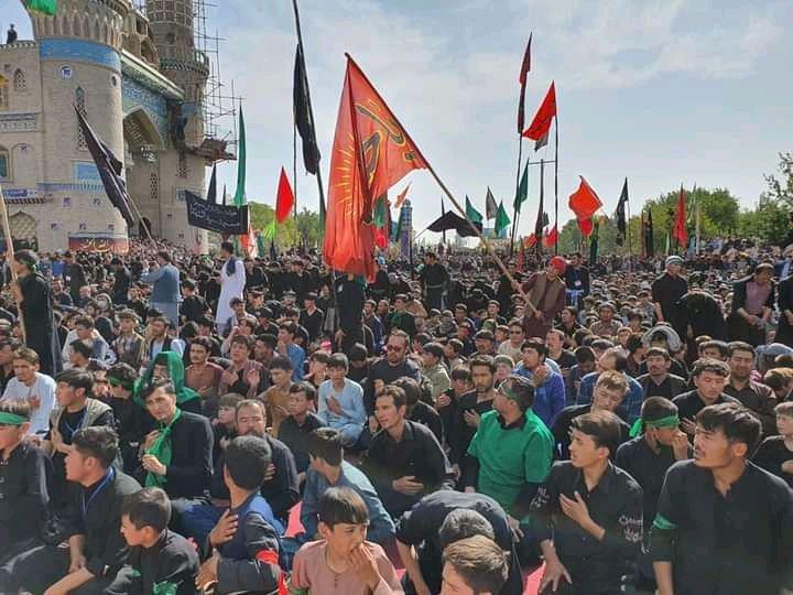 بزرگداشت از عاشورا با حضور هزاران عزادار در جبرئیل هرات