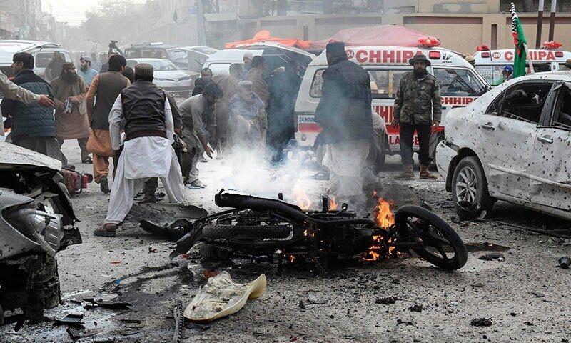 سه کشته و دستکم ۲۰ زخمی در حمله انتحاری بلوچستان پاکستان