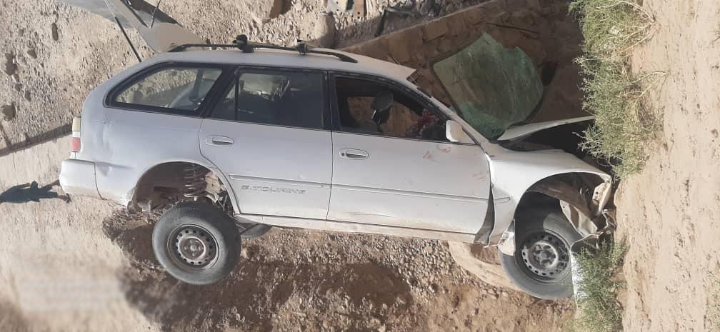 حادثه ترافیکی در مربوطات مرکز بادغیس/یک کشته و شش زخمی