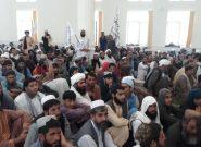 در پی خروج آمریکا از افغانستان، مسئولان طالبان در غرب کشور نوید تامین امنیت و پایان اشغالگری در کشور را میدهند