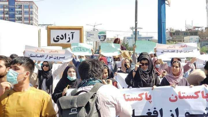تظاهرات گسترده مردم در گوشه و کنار افغانستان بر ضد پاکستان