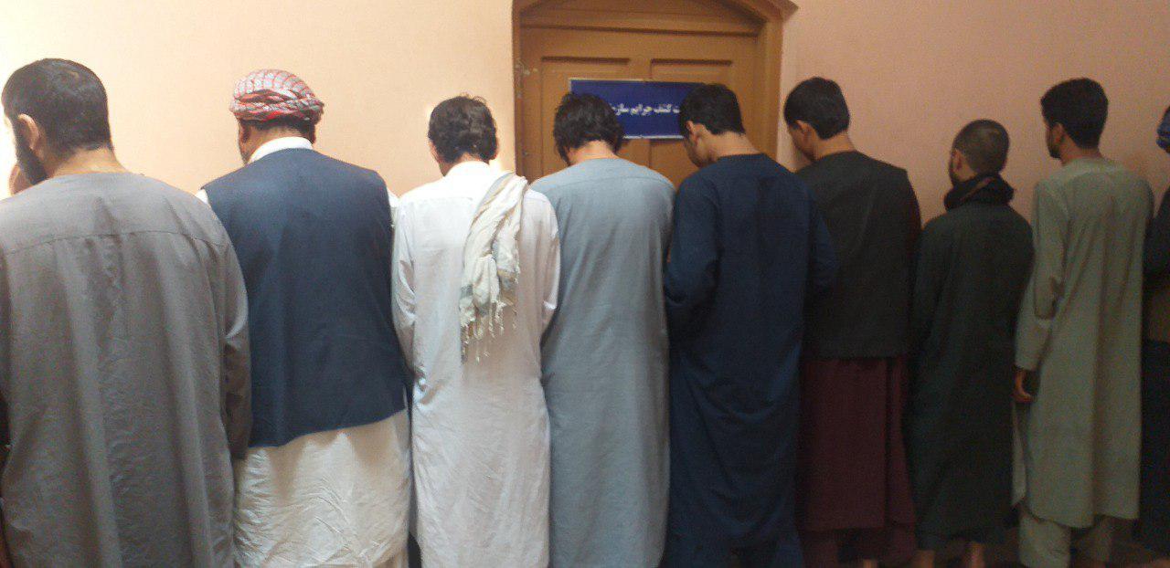 بازداشت سی تن به ظن جرایم مختلف در هرات