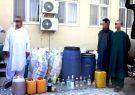 کشف و ضبط یک کارخانه تولید مشروبات الکلی در هرات