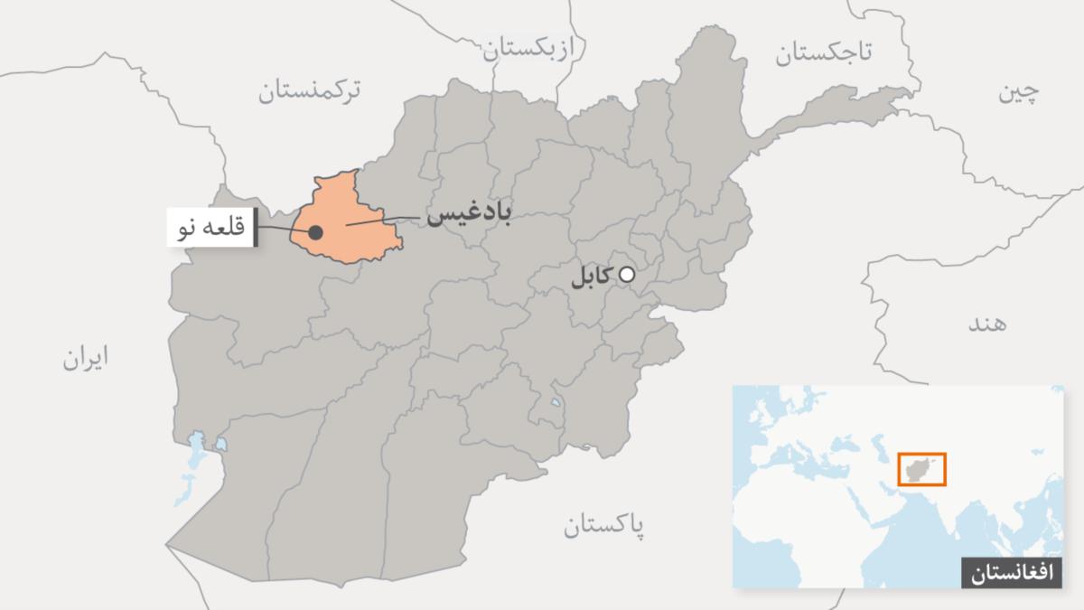دستگیری دو سارق مسلح بعد از تعقیب و گریز از سوی نیروهای امنیتی در بادغیس