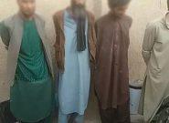 دستگیری یک باند چهار نفری از سارقین مسلح در هرات