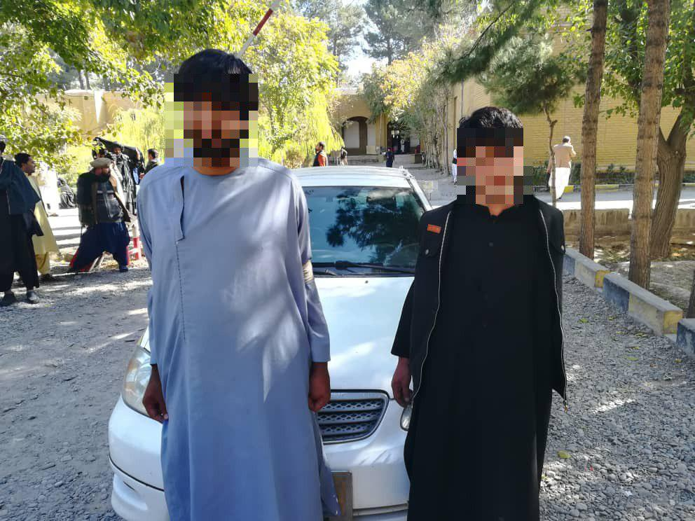 سه سارق توسط نیروهای فرماندهی امنیه در ولایت هرات بازداشت شدند