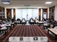 دیدار برخی تاجران با مقامات اتاق تجارت و صنایع هرات/نرخ تعرفه گمرکی برای تاجران بلند است