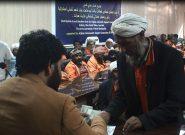 کمک مالی افغانهای خارج از کشور برای ۱۰۰ تن از کامندان تنظیف شهرداری هرات